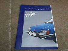 VAUXHALL CARLTON BROCHURE 1978 GM
