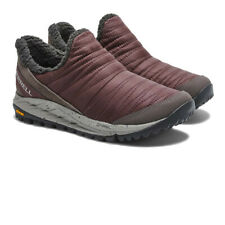 Merrell Womens Antora Sneaker Moc Shoes Burgundy Sports Outdoors Breathable