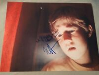 HALEY JOEL OSMENT SIGNED 8X10 PHOTO SIXTH SENSE SEE DEAD W/PROOF+COA RARE WOW
