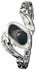Seksy Ladies' 4860 Mirage Black Dial Bracelet Watch.