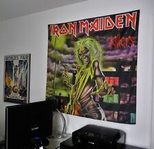IRON MAIDEN Killers HUGE 4X4 BANNER poster tapestry cd album wall decor eddie