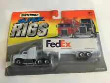 MATCHBOX SUPER RIGS FEDERAL EXPRESS 1/87 TRACTOR AND TRAILER NIP