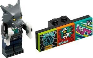 LEGO FIGURINE WEREWOLF DRUMMER SERIE 1 VIDIYO REF 43101 *NEUF*