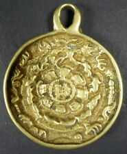 SUPERB GENUINE TIBETAN Shaman MELONG TOLI BRONZE MIRROR OVER 200 years old RARE