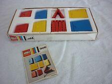 Vintage LEGO legolandset # 906-1: 12 puertas y 5 Bisagras En Caja Circa 1969