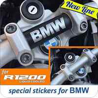 Adesivo BMW R 1200 GS Adventure LC manubrio NEW Logo BMW
