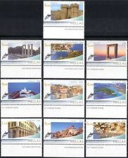 Greece 2006 Tourism/Buildings/History/Heritage/Dolphin/Holidays 10v set (n44135)