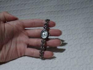 Woodford Sterling Silver .925 Ladies' Watch & Strap