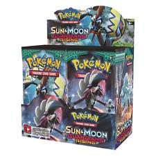 New Nintendo Pokemon Sun & Moon Guardians rising booster box