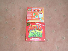 APPLES TO APPLES PARTY BOX GAME BY MATTEL GOOD CONDITION