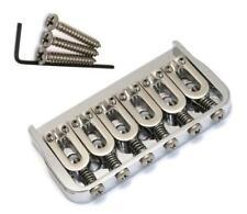 Hipshot® Hardtail 6 String Fixed .125 Guitar Bridge~Chrome~Left/Right~Brand New