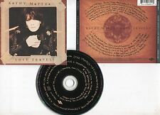 "Kathy MATTEA ""Love travels"" (CD) 1997"