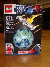 New! Star Wars Lego 9674 Naboo Starfighter & Naboo MISB