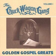 Golden Gospel Greats, Vol. 1 by Chuck Wagon Gang (Cassette, 100 Count