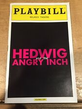 Hedwig And The Angry Inch - Playbill - Michael C Hall, Lena Hall - December 2014