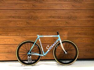 Columbus Spirit Vetta Taverna steel frameset frame set carbonio made in italy