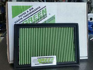 FILTRO ARIA IN COTONE SPORTIVO GREEN ALFA ROMEO 155 145 146 245*170mm air filter
