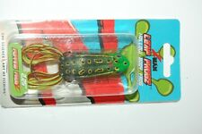 """zman bass hollow body frog leap frogz popping  2.25""""  topwater old school"""