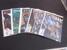 DC BATMAN & ROBIN THE BOY WONDER COMIC BOOK RUN 1-5 W/ 1ST ISSUES A & B