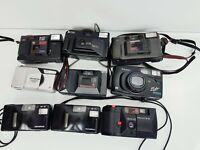 JOBLOT of Vintage 35mm Film Cameras, ***Parts/Repairs** - Pentax, Olympus, Ricoh