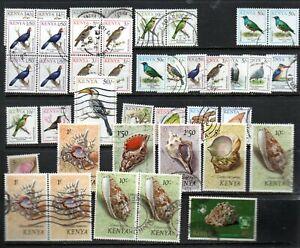 Kenya 1993 Birds to 50/- used