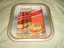 "VINTAGE ""JOHNNIE WALKER - RED LABEL OLD SCOTCH WHISKY"" METAL TRAY (SCOTLAND)"