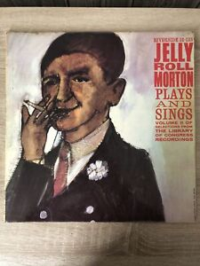 Jelly Roll Morton Plays And Sings Volume 2 Library Of Congress Recordings. LP