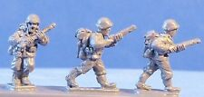 Peter Pig Miniatures 8 308 US Rifles Advancing FOW Wargamming WWII NOS