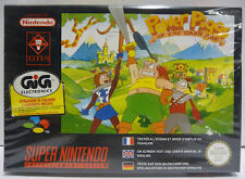 POWER PIGGS OF THE DARK AGE - SNES SUPER NINTENDO PAL BOXED