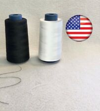 Black Sewing Or Serger Machiene Thread 2600 Yard Spools