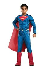 Superman Muscle Chest Costume with Cape Toddler 3T-4T Free S//H