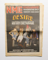 NME magazine 16 January 1988 Red Hot Chilli Peppers House Martins