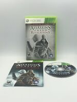 Assassin's Creed: Revelations Signature Edition Microsoft Xbox 360 with manual