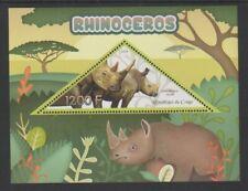 Congo - 2014, 1200f Rhinoceros sheet - MNH