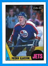 1987-88 O-Pee-Chee FREDRIK OLAUSSON (ex) Edmonton Oilers Rookie