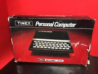 Vintage '82 Timex Sinclair 1000 Personal Computer Mint Cosmetic Cond *Untested*