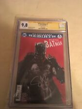 All star batman 1 signed by Snyder cgc 9.8
