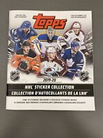 2019-20 NHL Sticker Collection Album - Find 10 Stickers + 4 Exclusive Stickers