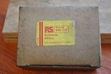 24V DC. RS-Solenoide Nuevo con Caja sucio