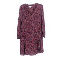 Anthropologie Velvet By Graham & Spencer Floral Midi Dress Medium Cottage Core