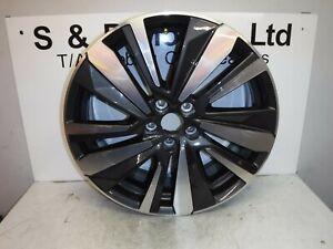 """Peugeot 3008 17-20 19"""" 7J ET38 GT Alloy Wheel 5x108 9809685477 #10"""