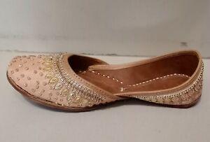D-9 khussa shoes wedding shoes bridal flats Mojari Jooti punjabi jutti lover