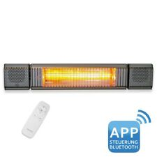 VASNER Appino BEATZZ Grau Infrarotstrahler Bluetooth, LED Backlight Licht, Musik