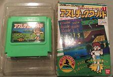 Athletic World (Nintendo Famicom, 1986) Japan Import NES Family Trainer events