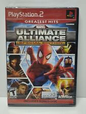 MARVEL Ultimate Alliance Special Edition (PlayStation 2 PS2, 2006) Brand New