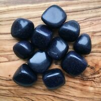 11 x Blue Goldstone Tumblestones 175g+ Wholesale Crystal Therapists Healers