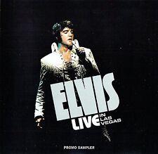 Elvis Presley - Live In Las Vegas - Promo Sampler CD