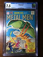 Showcase #37 (1962) - 1st Metal Men!!! - CGC 7.5!!! - Key!!