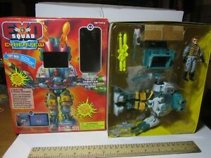 EXO SQUAD CYBERVIEW SEAN NAPIER INFRARED SCAN-TRACK E-FRAME BOXED BY PLAYMATES