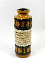 """West German """"Scheurich"""" Vintage 1960`s Ceramic Lava Vase."""